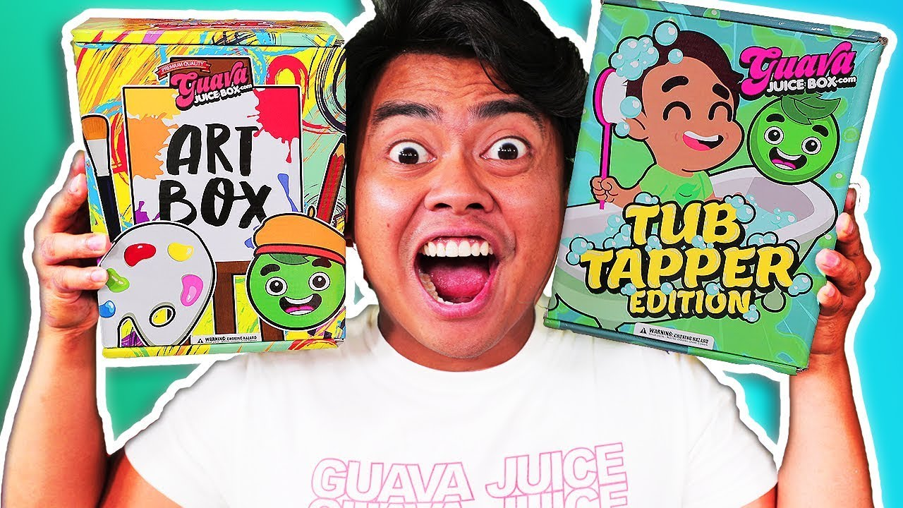 new-guava-juice-box-artsy-box-edition-and-more-unboxing