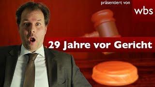 29 Jahre vor Gericht: Die 5 längsten Prozesse | Rechtsanwalt Christian Solmecke