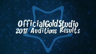 ogs 2o17 audition results