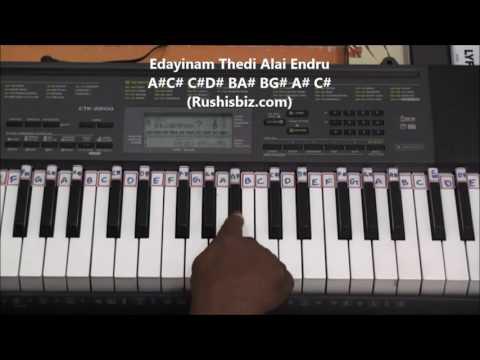 Suttum Vizhi Sudare (Piano Tutorials) - Ghajini