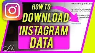 How to DOWNLOAD Instagram DATA - Backup and Archive your Instagram