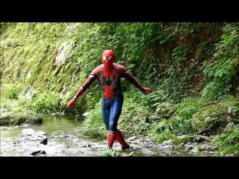 アベンジャーズ・スパイダーマンSpiderman2018名栗観音の滝#10