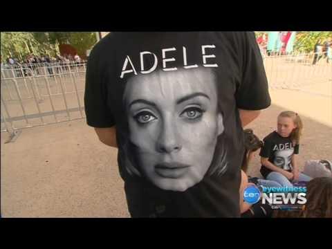 Adele in Adelaide - Ten Eyewitness News