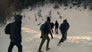 france tension rises as migrants brave the alps