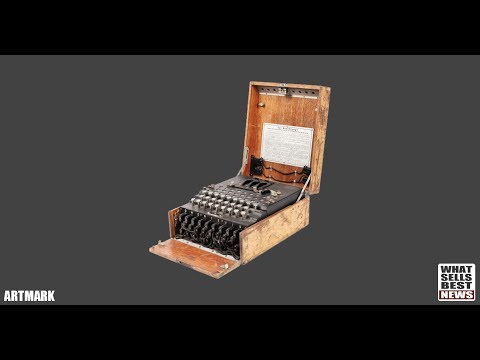 SOLD - $51,000 for German Enigma Machine found at Flea Market