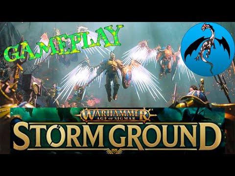 Warhammer Age of Sigmar Storm Ground Gameplay |