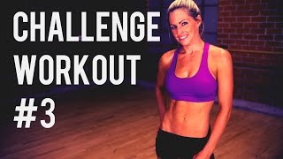 Total Body Challenge Workout #3 -- Body Weight & Dumbbell Workout