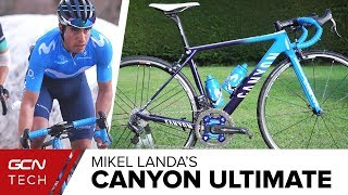 Mikel Landa's Canyon Ultimate CF SLX Training Bike