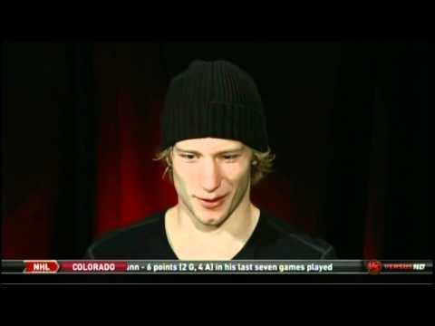 Jordan Staal Versus Interview (January 10th, 2011)