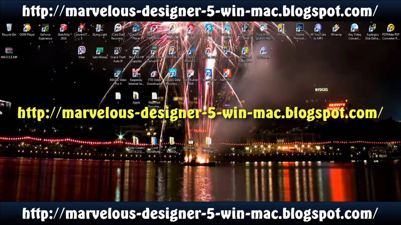 Marvelous designer 9 free download mac