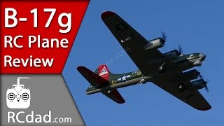 b 17g ultra micro rc airplane with as3x flight review