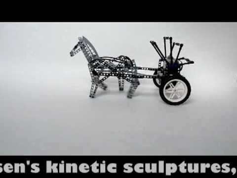 Lego Technic Kinetic Horse Sculpture