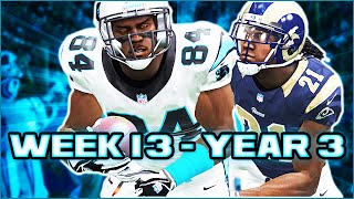 Madden 15 Panthers Connected Franchise - Week 13 @ Rams (Season 3)