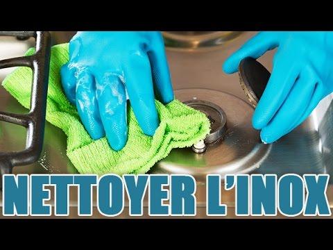 astuces pour nettoyer et faire briller les surfaces en inox - youtube