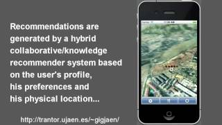 A Mobile 3D-GIS Hybrid Recommender System for Tourism