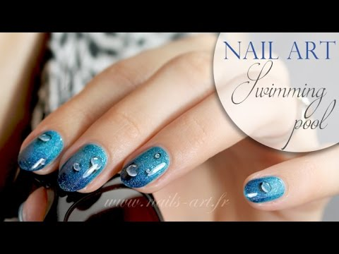 Art swimming nail art swimming pool prinsesfo Image collections