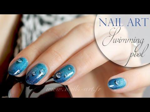 Nail Art Swimming Pool Youtube