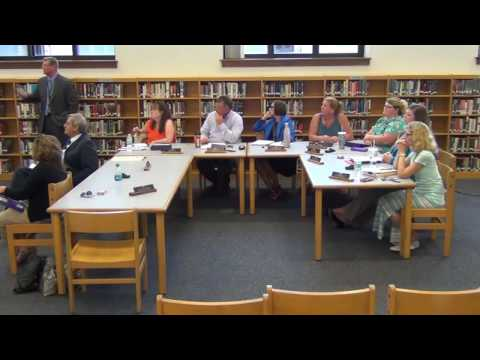 August 29th, 2016 Holland Board of Education Meeting