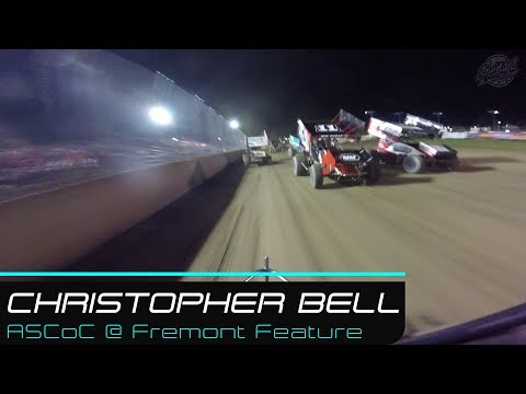 Christopher Bell | ASCoC @ Fremont Speedway Feature Rear | 5.26.19