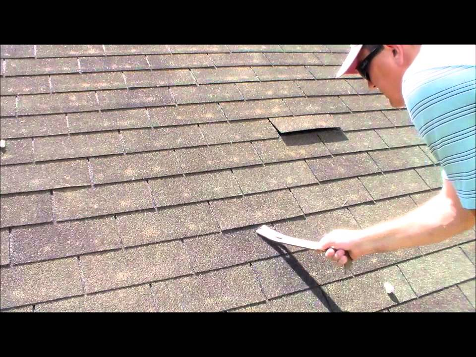 Roofing Leak Repair how to fix a roof leak in asphalt shingle roofing - youtube