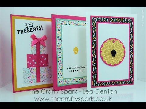 3 Super Speedy Simple Cards #5 It's My Party!