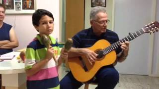 Tog mi sa by Rudy Maduro (grandson Michael playing maracas)