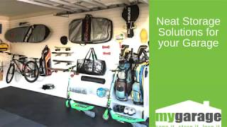 Neat Storage Solutions for your Garage