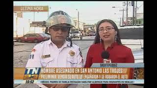 Vendedor de autos fue asesinado en San Antonio Los Trojes