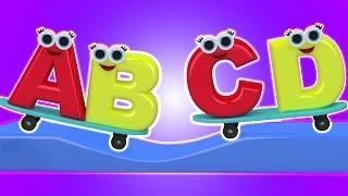 ABC Lied | Bildungs-Video | Kompilation | Alphabete Lied | Erfahren Alphabete | Alphabets Song
