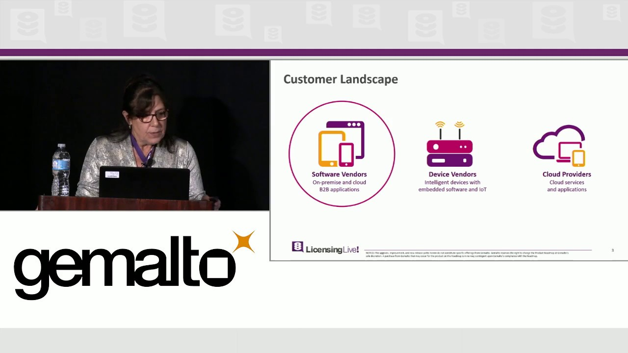 LicensingLive! 2016 | Sentinel Strategy and Roadmap