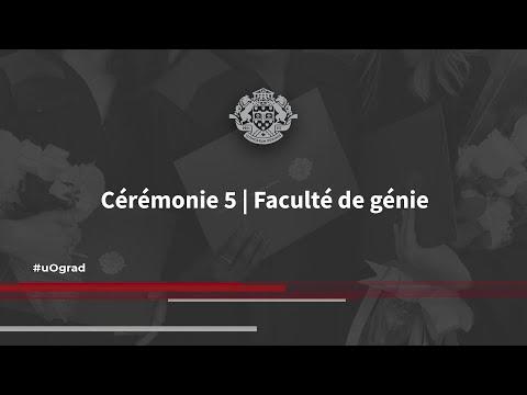 #uOgrad Cérémonie 5   Faculté de génie