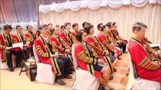 พิธีพระราชทานปริญญาบัตร มจธ. ประจำปีการศึกษา 2558