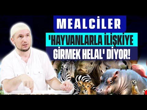 Mealciler, 'Hayvanlarla ilişkiye girmek helal' diyor! / Kerem Önder
