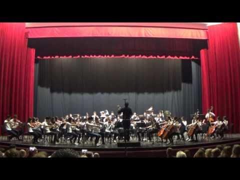 Orchestra Junior Conservatorio P.G. Palestrina Cagliari - Concerto 9 Giugno 2016