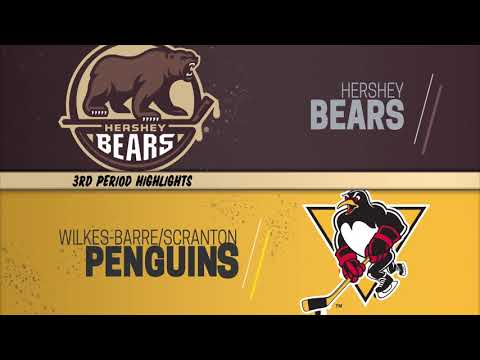 Hershey 4 vs Wilkes-Barre/Scranton 3 Game Highlights