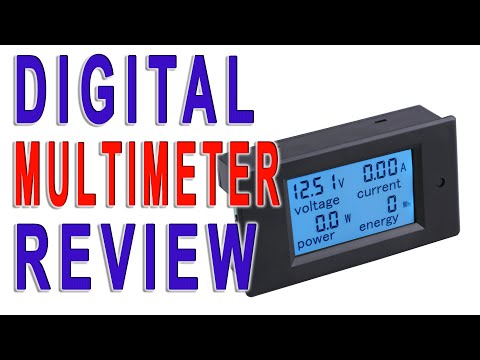 Yeeco® Digital Multimeter DC6.5-100V 100A Voltage Amperage   Review