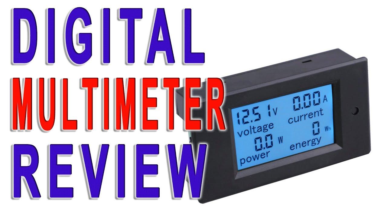 Droking Mini Voltmeter DC 30V Blue LED Voltage Meter Digital Display Panel Voltage Battery Power Monitor Volt Detector for Car Motorcycle Vehicle Automotive Blue