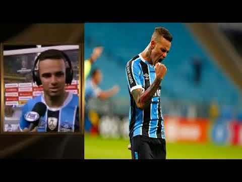 Entrevista Pós Jogo com Luan - Barcelona EQU 0 X 3 Grêmio - Libertadores 25/10/2017
