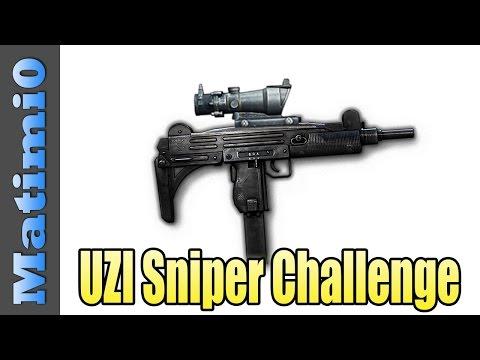 Uzi Sniper Challenge - I Hate You All - Battlefield Hardline