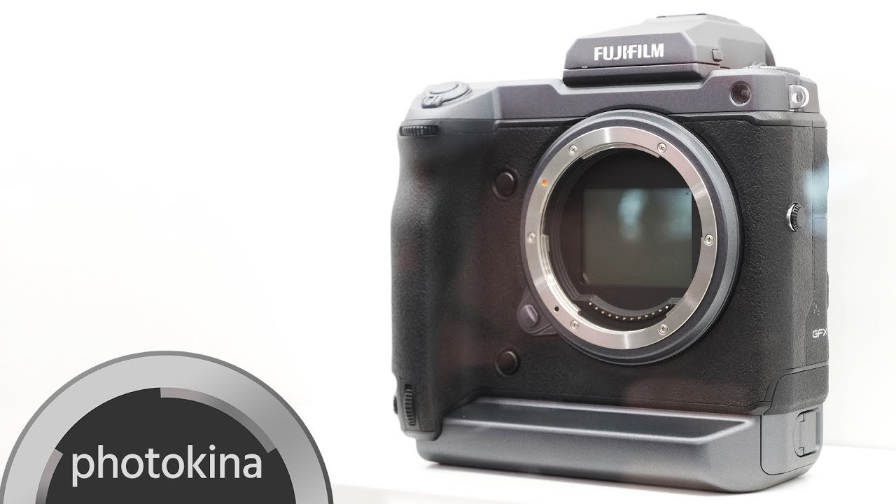 FUJIFILM GFX 100 – 4K, 10bit Medium Format Camera Concept Explained ...
