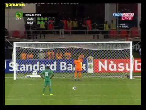Africa Cup 2010 Zambia-Nigeria (Penalties)