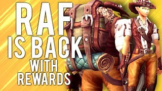 Recruit A Friend Returns with MASSIVE REWARDS! - WoW: Battle For Azeroth 8.2