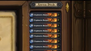 Hearthstone - When You Make a Deck With 5 Explosive Runes