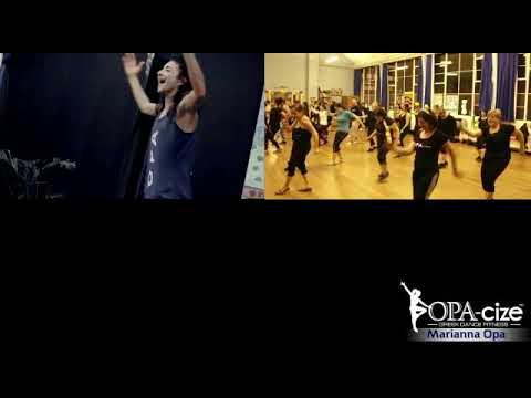 Opacize Greek dance fitness London Marianna class 2018
