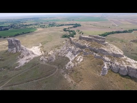 Courthouse Rock and Jailhouse Rock Drone Flight