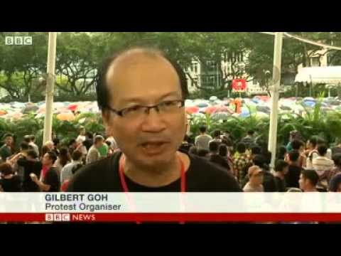 Singapore protest against foreign workers
