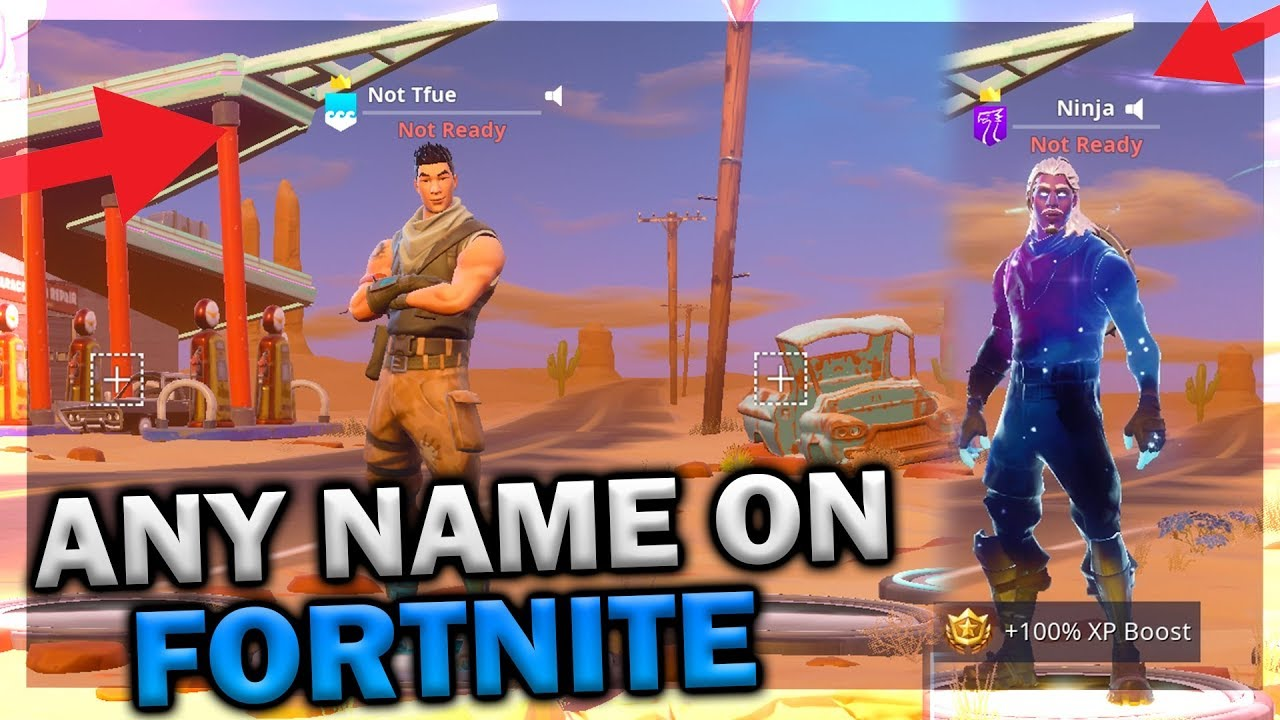 How to get ANY USERNAME in Fortnite! EVEN TAKEN USERNAMES! STILL WORKING