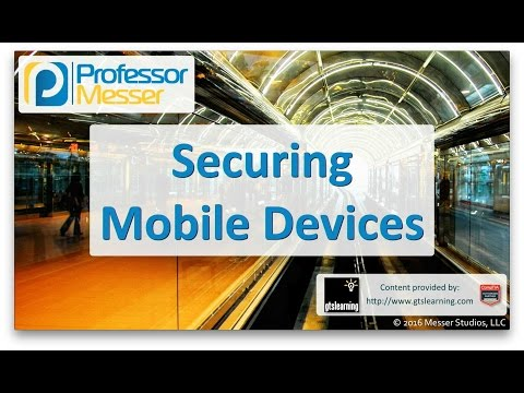 Descargar Video Securing Mobile Devices - CompTIA A+ 220-902 - 3.5