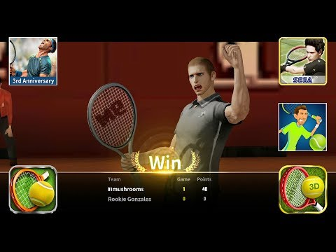 Top 5 Best Tennis Games For Android - You Must Play #1