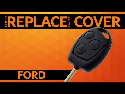 Ford  - How To Replace Car Key Cover